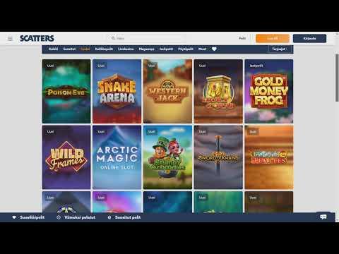 Scatters kolikkopelit & pelivalikoima - Ota kasinopelit haltuun