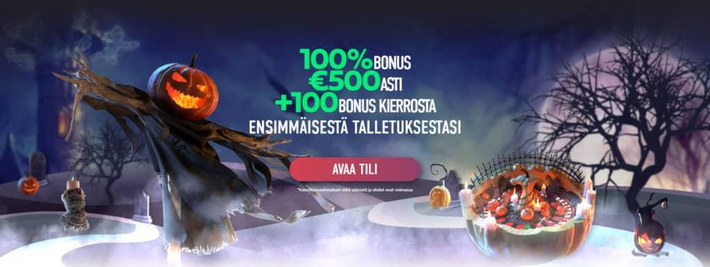 Slotnite casino bonus - Ilmaiskierrokset & talletusbonus